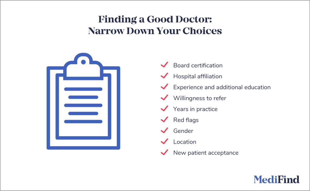 Narrow Down Your Choices and Make Final Evaluations