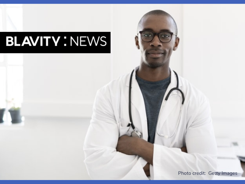 Blavity feature article with doctor