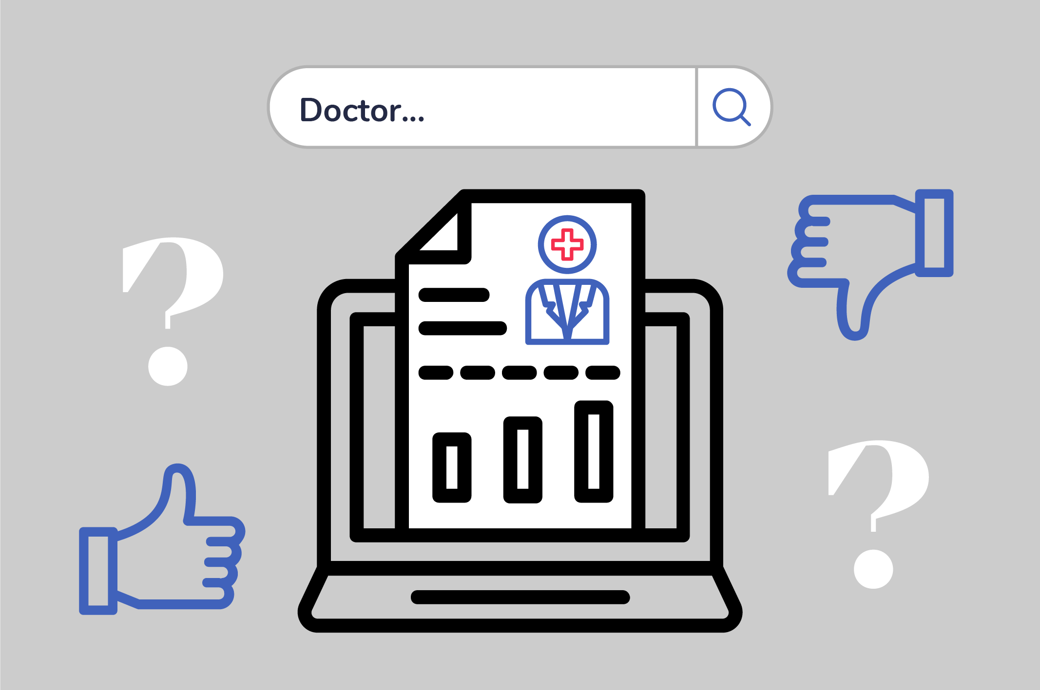 how to find out about a doctor reputation