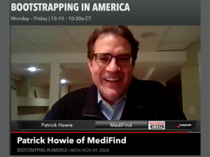 Patrick Howie, Founder and CEO of MediFind, talks with Bootstrapping in America