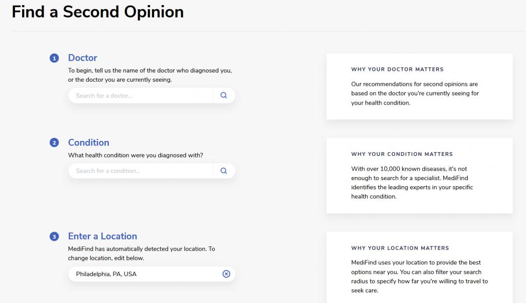 Second Opinion Finder ms