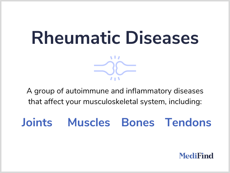 What are rheumatic diseases?
