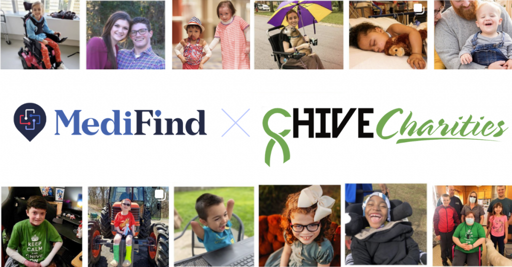 MediFind is partnering with Chive Charities